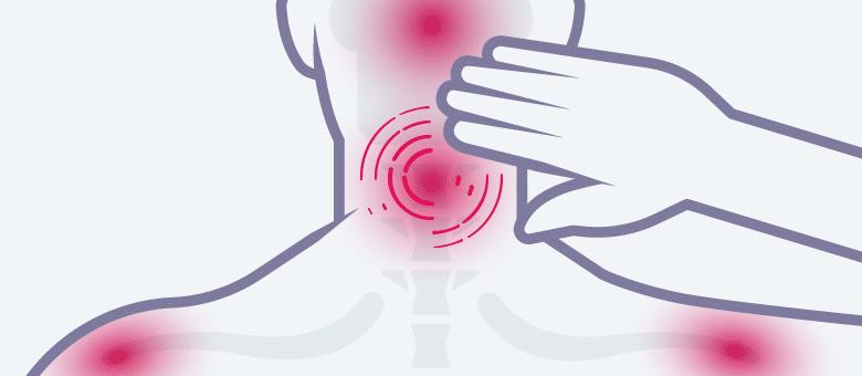 nekpijn-door-slijtage